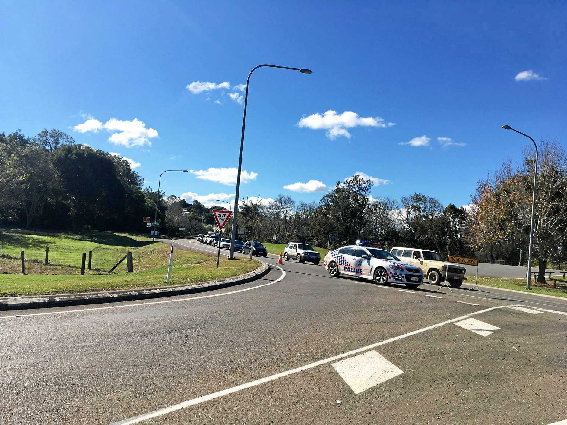 Traffic chaos on the Bruce Highway and Normanby Bridge continues.