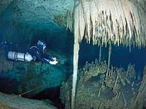 Cave diving serenity a contrast to Thai horror