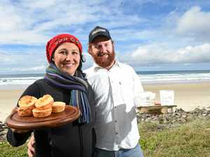 Coffee with a view: New venture sets up beachside