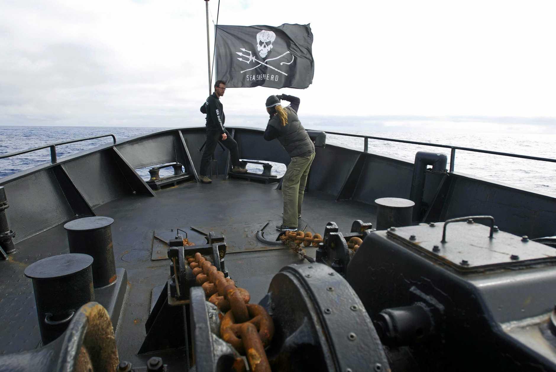 172447Chantal Henderson on the Sea Shepherd