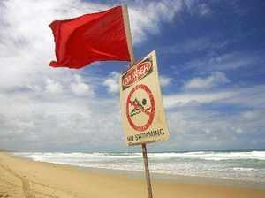 Beaches evacuated after several shark sightings