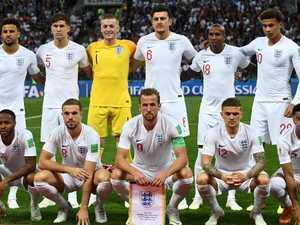 England's $100,000 wardrobe malfunction