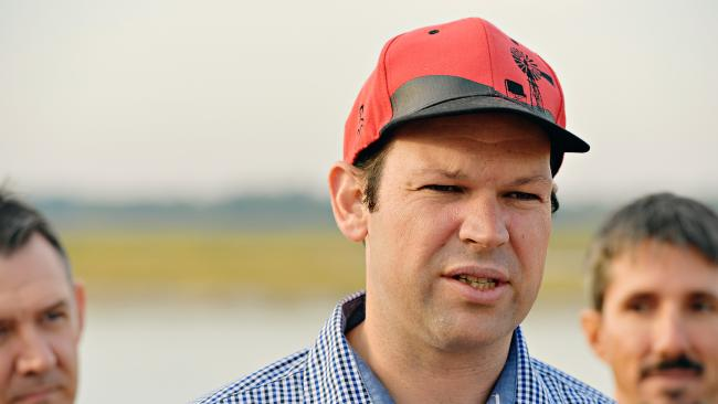 Matt Canavan is in favour of maintaining the Lord's Prayer in the Senate. (Pic: Michael Franchi)
