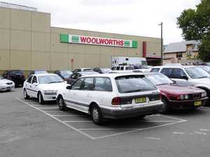 Police manhunt after Woolies stabbing