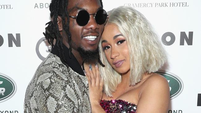 Rapper Cardi B has announced the birth of her daughter with rapper Offset. Picture:   Rob Kim/Getty Images