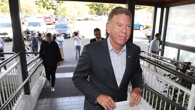 Acting Ipswich Mayor Wayne Wendt, who defended the council's performance in the submission. Picture: Peter Wallis