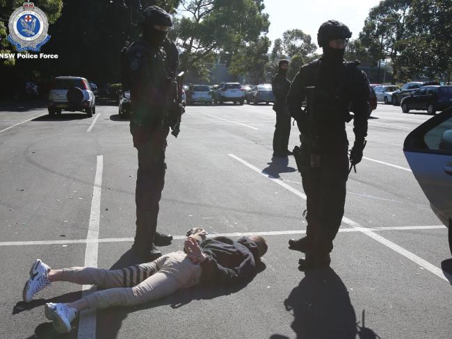 Investigators seized 2.7kg of cocaine. Picture: Police