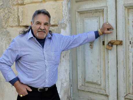 Alex Vella in exile in Malta.
