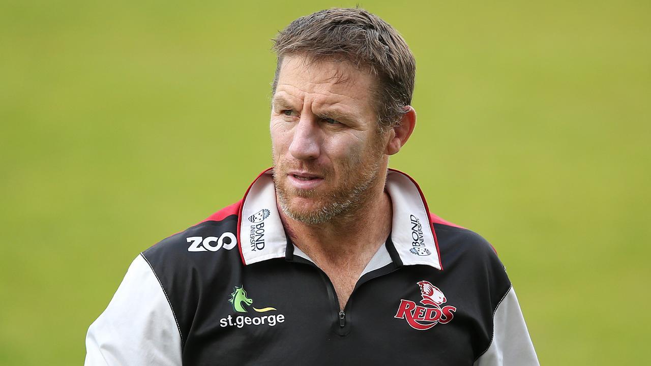 Queensland Reds coach Brad Thorn has shown no interest in letting Karmichael Hunt return.