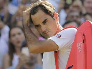 Federer out of Wimbledon