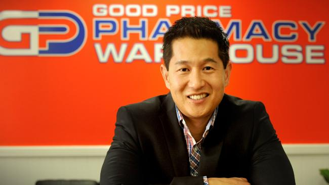 Good Price Pharmacy Warehouse managing director Anthony Yap. Picture: Richard Walker.
