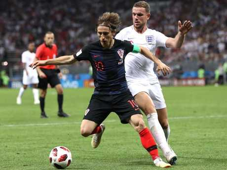 Luka Modric was the architect of Croatia's success.