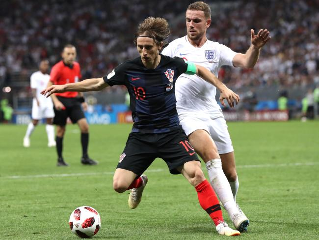 Luka Modric was the architect of Croatia's success.