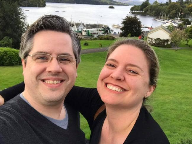 Howard Durdle was shocked to receive a shocking letter from PayPal just weeks after his wife tragically passed away. Picture: Facebook Source:Supplied