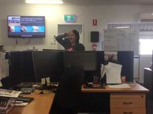 Gympie Times sports writer Bec Singh loses her mind over JT news