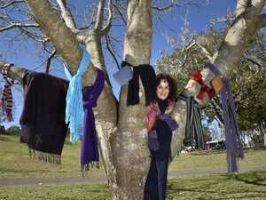 Heart-warming reason you'll see scarves around city trees