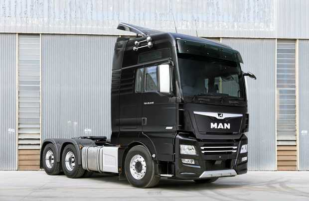 EUROPEAN STYLE: The MAN XXL cab with TGX-D38 640hp engine.