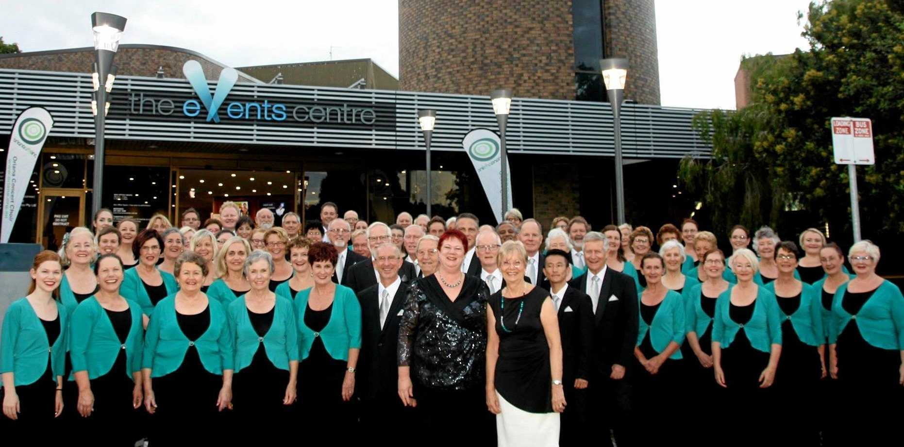 Sunshine Coast Oriana Choir at Caloundra Events Centre.