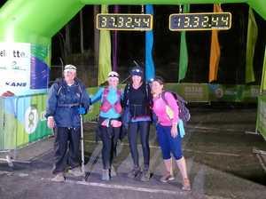 Gladstone's 'Blister Sisters' tackle 100 kilometre walk