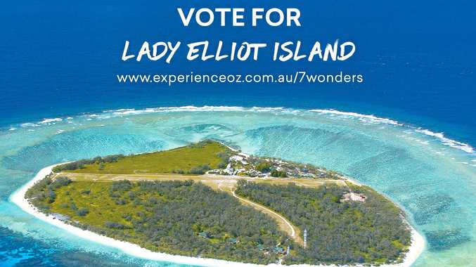 Lady Elliot Island has also made the shortlist of nominees for Experience Oz's 'Seven Wonders of Australia' joining Fraser Island.