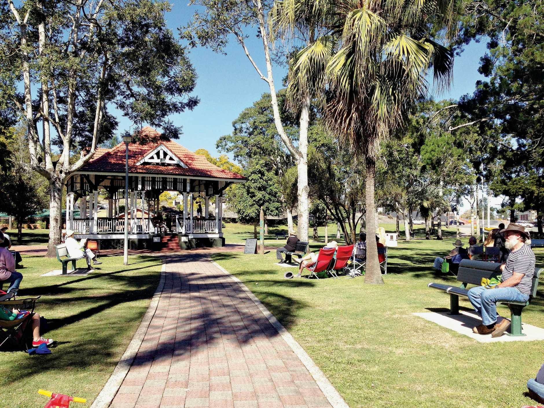 PARKED HERE FOR YEARS: The council is calling for feedback on the  conservation and management of the city's heritage listed Memorial Park.