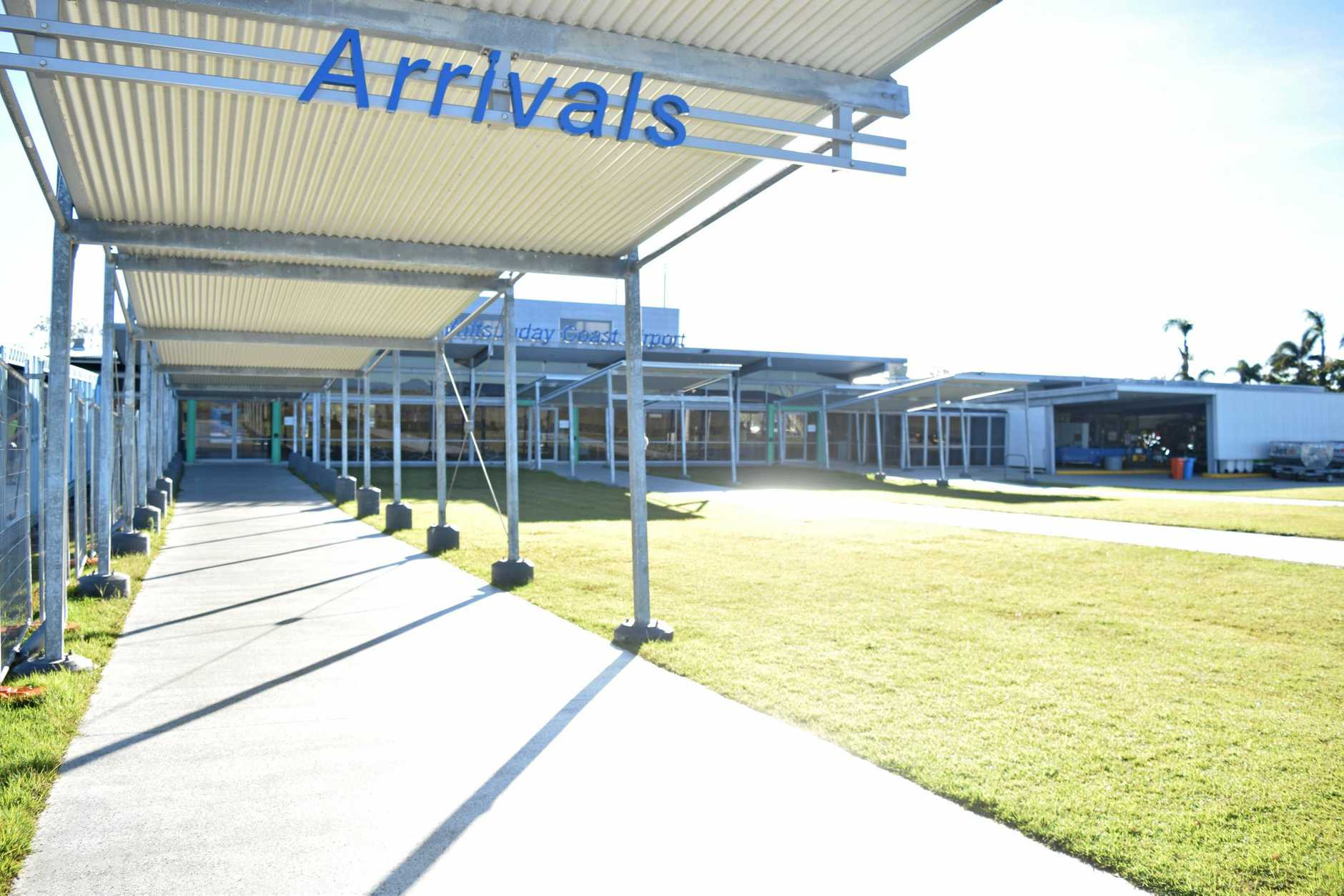 The Whitsunday Coast Airport will receive three new Virgin flights.
