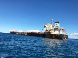AMSA swoops on ship in Gladstone for underpaying crew