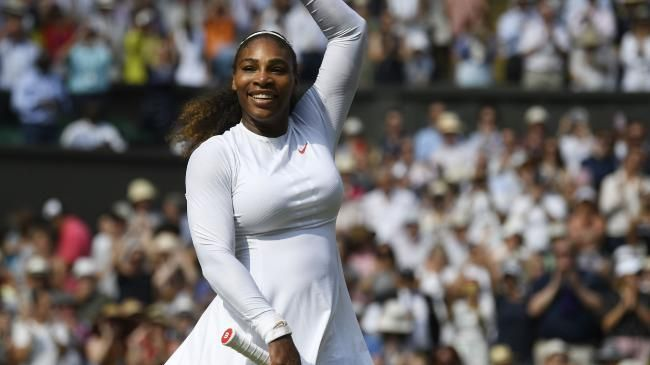 Serena Williams is back to her best.