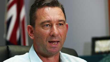 Queensland Emergency Services Minister Craig Crawford. PICTURE: BRENDAN RADKE