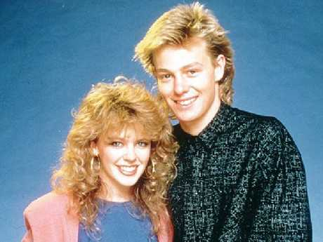 Kylie Minogue and Jason Donovan in  Neighbours