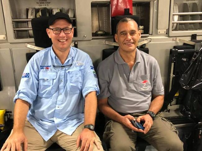 Dr Richard Harris wrote he and Craig Challen mused about the cave rescue mission on the way home to Australia. Picture: Supplied