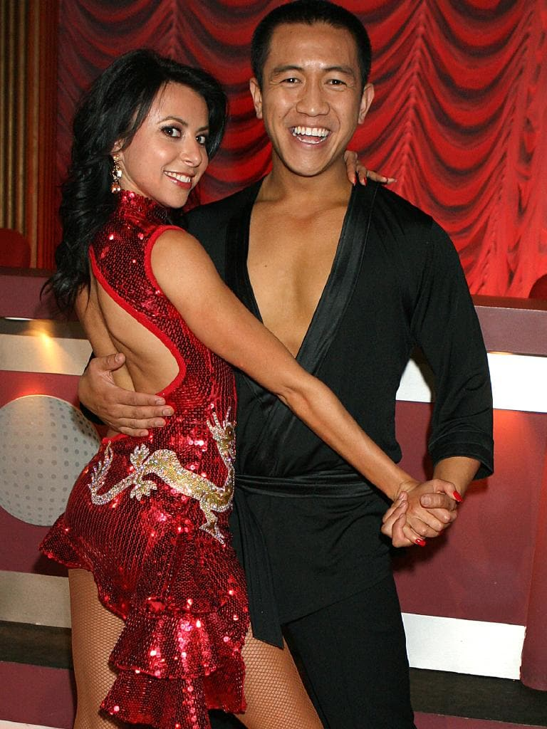 Dancing With The Stars 2007 runners-up Anh Do with dance parnter Luda Kroitor.