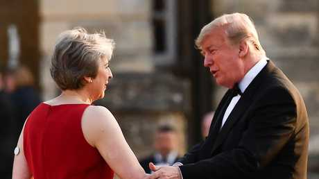 "Despite his harsh criticism of Ms May's leadership, Mr Trump noted he ""gets along with her nicely"" and thinks she is ""a nice person""."