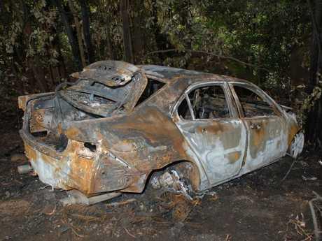 Goran Nikolovski's Honda Accord was found burnt out a few days after he vanished.