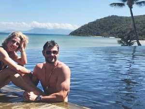 Chris Hemsworth dances with his wife