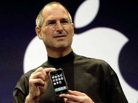 Apple co-founder Steve Jobs launched the first iPhone, a device that put the company on the path to becoming the world's richest.