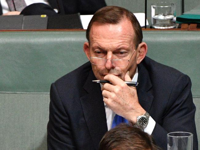 Former prime minister Tony Abbott has spearheaded calls for the Turnbull Government to cut the immigration rate. Picture: AAP.
