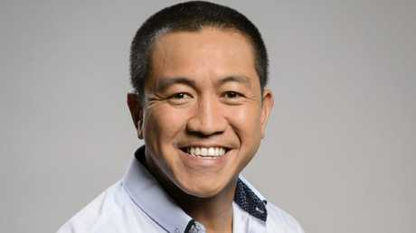 Anh Do is returning for a third season with his show Anh's Brush with Fame. Picture: Stu Bryce