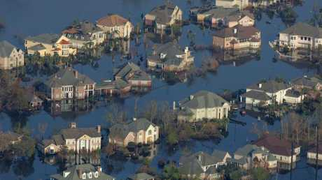 Hurricane Katrina left New Orleans in ruins.