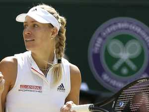 Angelique Kerber into Wimbledon final