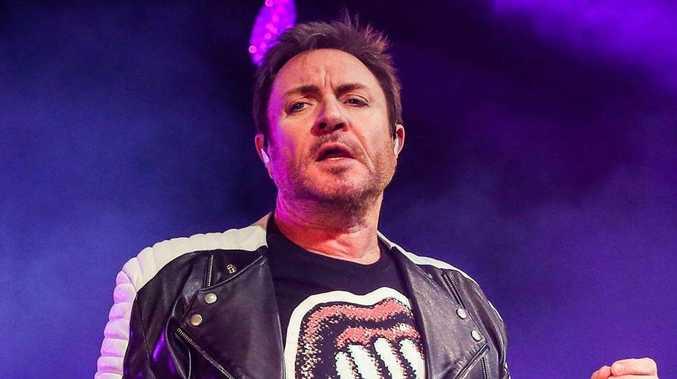 Duran Duran frontman Simon Le Bon.
