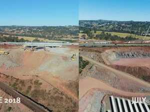 TSRC: Viaduct in 2017 v 2018