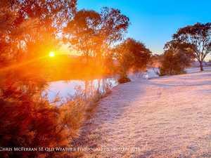 Toowoomba wakes up to sub zero temperatures