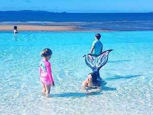 Dreams come true for CQ kids as mermaids splash into lagoon
