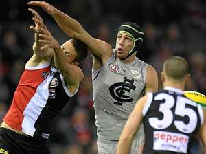 Elevated heart rate means tests for Carlton ruckman