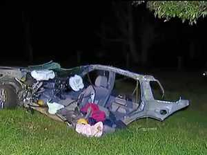 'Harrowing' crash killed man, split car in two