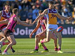 Brisbane Lions win their third in a row, stunning the Hawks