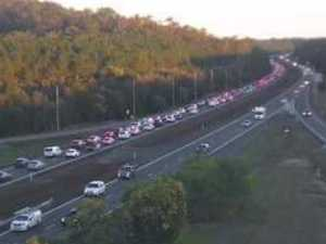 Bruce Hwy at a standstill, warning of extensive delays