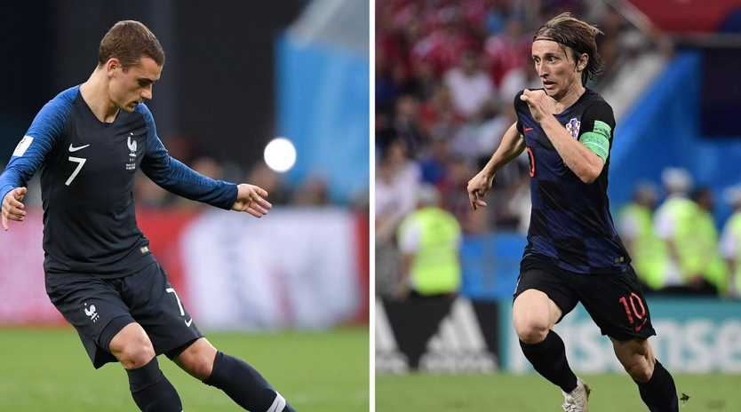 Antoine Griezmann and Luka Modric have big roles to play in the decider.