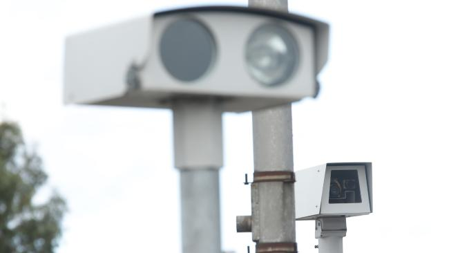 The Clarence Valley's first fixed speed camera will be installed along the Pacific Highway at Ulmarra in October. Picture: Norm Oorloff
